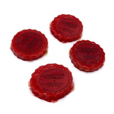 Αρωματικά έλαια για καυστήρα Chocolate - Rasberry σετ 4 τεμάχια
