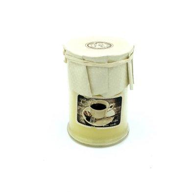 Αρωματικό κερί σε βαζάκι coffee - orange