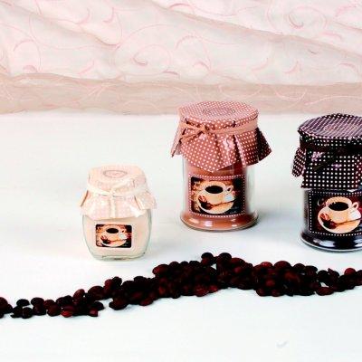 Αρωματικό κερί σε βαζάκι coffee - mocha