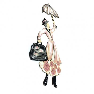 Φιγούρα ξύλινη Mary Poppins