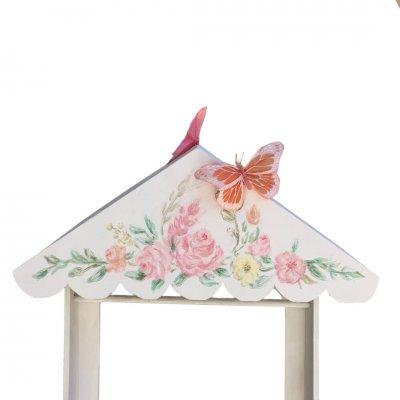 Κουτί Βάπτισης για κορίτσι Πεταλούδα - Πορτ μαντώ